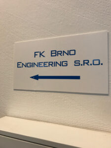 It is very likely that I was the first American without a tie to the company to follow this sign up to the corporate offices in BRNO, CZ.