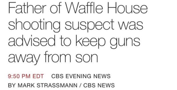 wafflehousefather